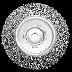 Escova Circular Ondulada 6X3/4''