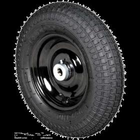 Roda c/ Pneu Maciço p/ Carro de Mão 350X8X1''